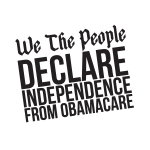 FreedomWorks.org We the people declare Independence from obama